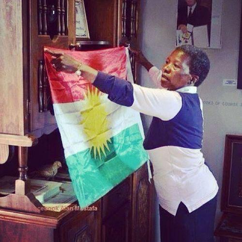Kurdish Flag Nelsonmandila Wife
