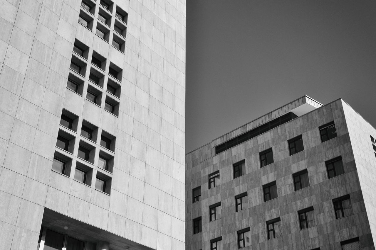 Architecture Budapest Building Building Exterior Built Structure City Day Low Angle View Minimal Minimalism No People Outdoors Shadows Shadows & Lights Window Windows