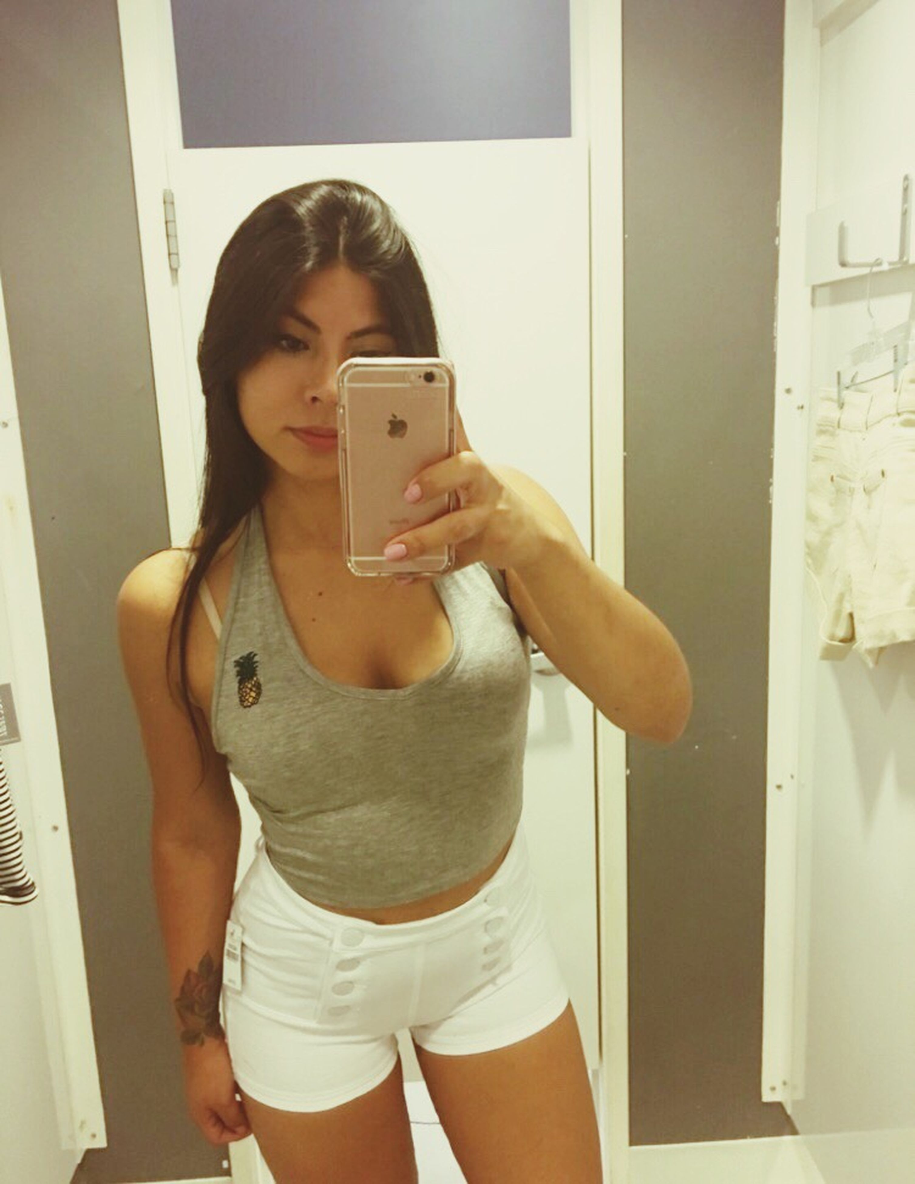 Girl Latina New Fitting Room Selfie Followme Like  Eyeem-4052