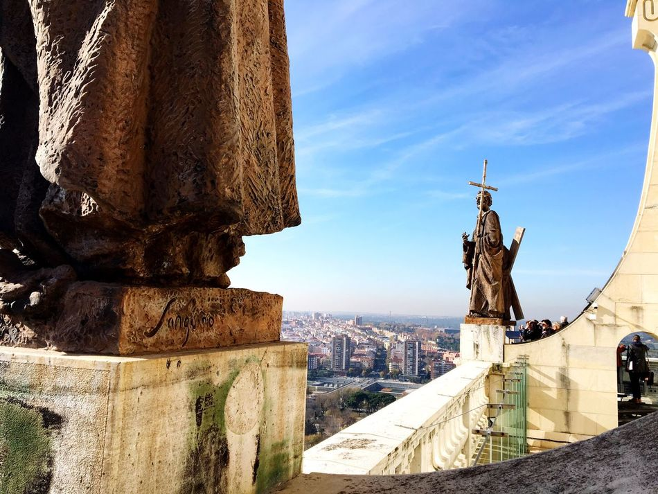Beautiful stock photos of spain, Almudena Cathedral, Architecture, Building Exterior, Built Structure