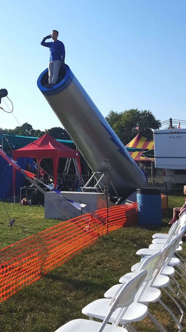 Capture The Moment Carnival Human Cannonball Seeks Audience