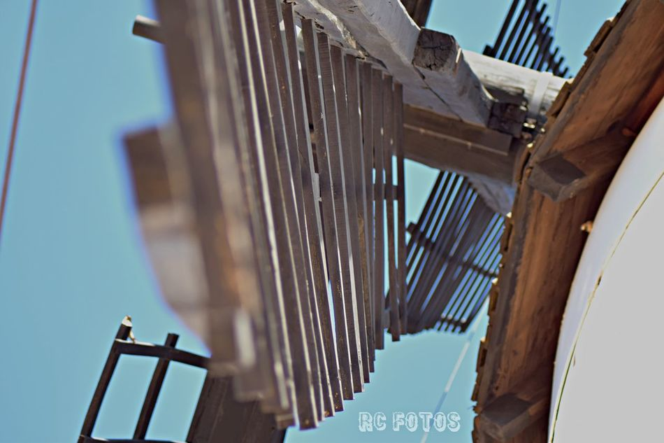 Wood - Material Architecture Built Structure Low Angle View Sky No People Outdoors Windmill SPAIN Españoles Y Sus Fotos First Eyeem Photo