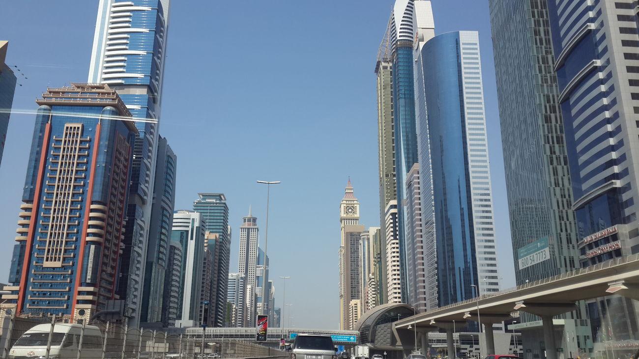 To the other side of DXB Dubai Trade Center Dubai UAE