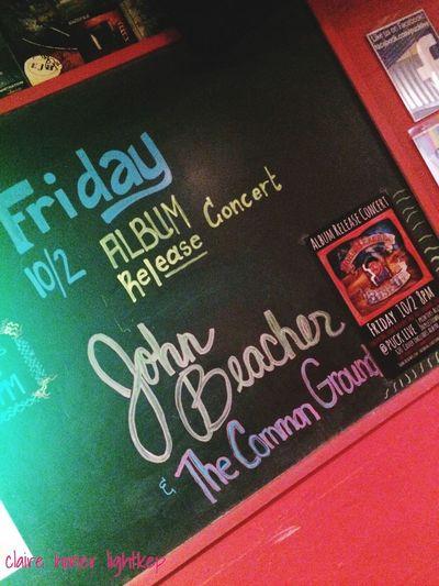 John Beacher The Common Ground Album Release