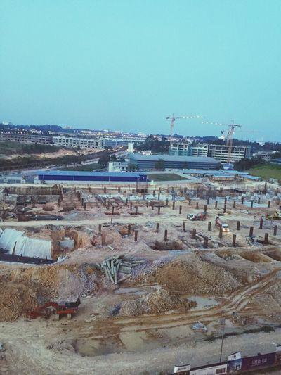 Piling Architecture Mall Capital21 Fundamental