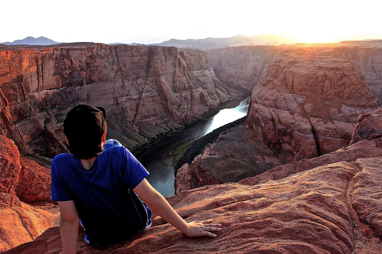 Horseshoe Bend Arizona Beautiful View Beautiful Place Tranquility Tranquil Scene Getting Away From It All Escapism Melancholic Landscapes Meditation Place The Great Outdoors With Adobe Feel The Journey Live For The Story