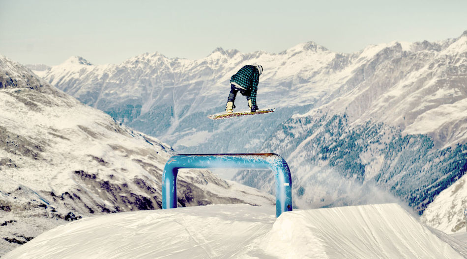 Beautiful stock photos of jump, Cold Temperature, Danger, Day, Extreme Sports