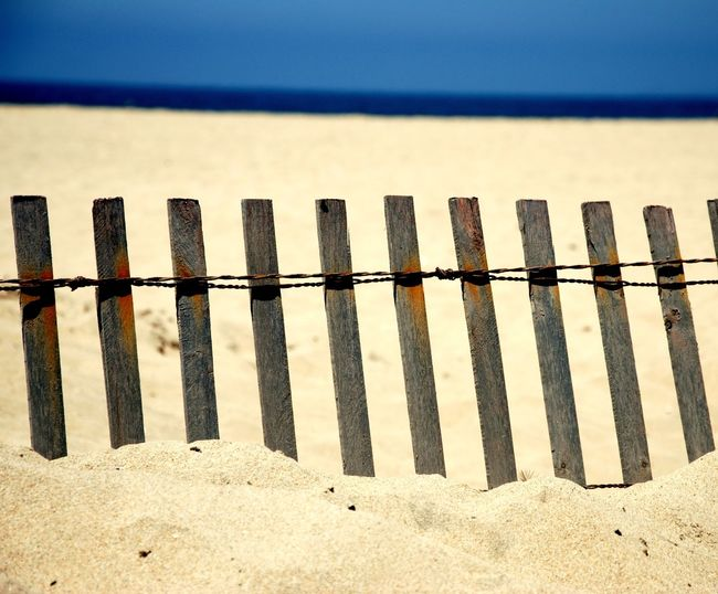 Beach Life Fences & Beyond The Week on EyeEm Background Backgrounds Beach Beach Fence Beachphotography Cover Day Fence Horizon Over Water Nature No People Outdoors Protection Railing Safety Sand Sand & Sea Sandy Sea Sky Tranquility Water