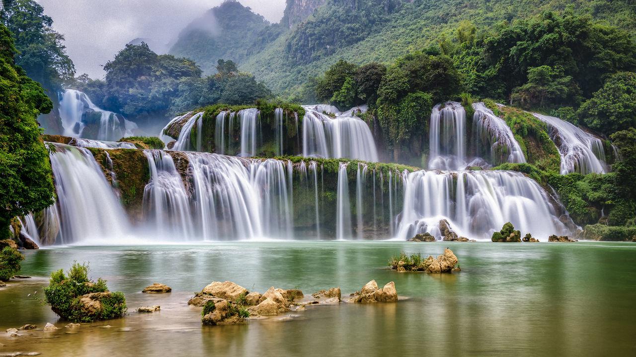 Ban Gioc Waterfall Waterfall First Eyeem Photo