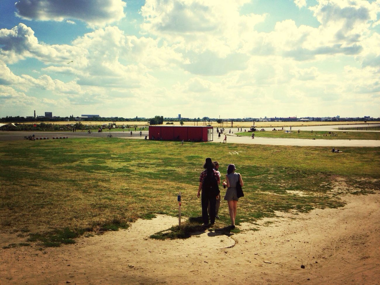 Today you look nice, Tempelhof! My Berlin  Berlin Cloud Love