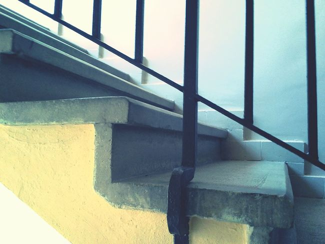 Basement Yellow Grey Brown Lépcső Lépcsőház Korlát Staircase Aircraft Step Step Steps And Staircases Steps Follow The Steps