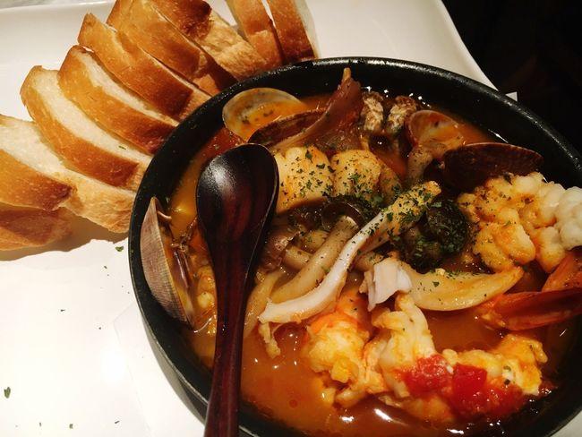 海鮮 バゲット 京都 晩ご飯 美味しい Yummy