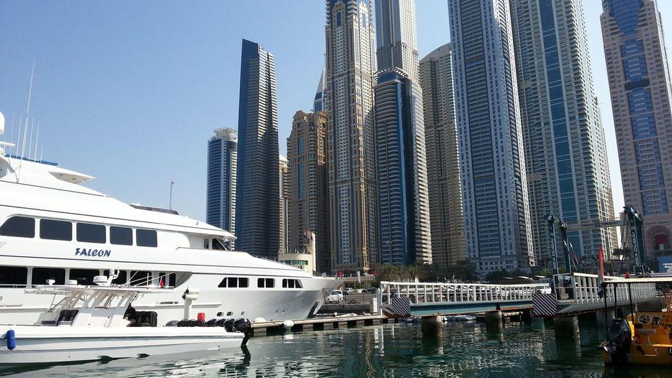 United Arab Emirates Dubai Dubai Marina Yacht Club Yacht Harbor Yacht City Mobile Photography No Edit/no Filter