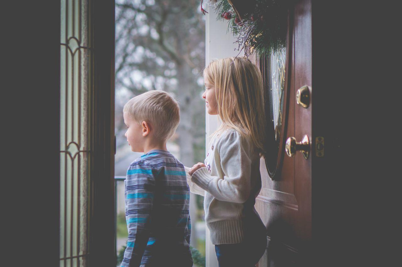 Waiting Kids Child Children Family Siblings Home