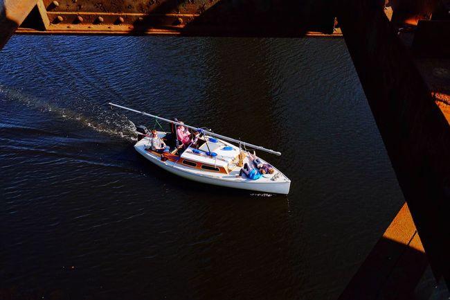 Frame It! Enjoying The Sun Boat Ride Hanging Out FUJIFILM X-T1