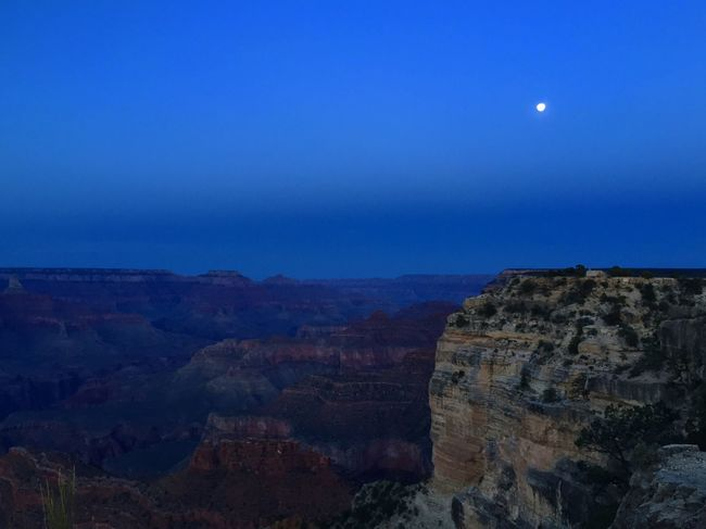 Moonrise Moonlight Moonglow  Abretusojos Thegrandcanyon South Rim Southrim The Grand Canyon Full Moon Fullmoon The Great Outdoors With Adobe The Great Outdoors - 2016 EyeEm Awards