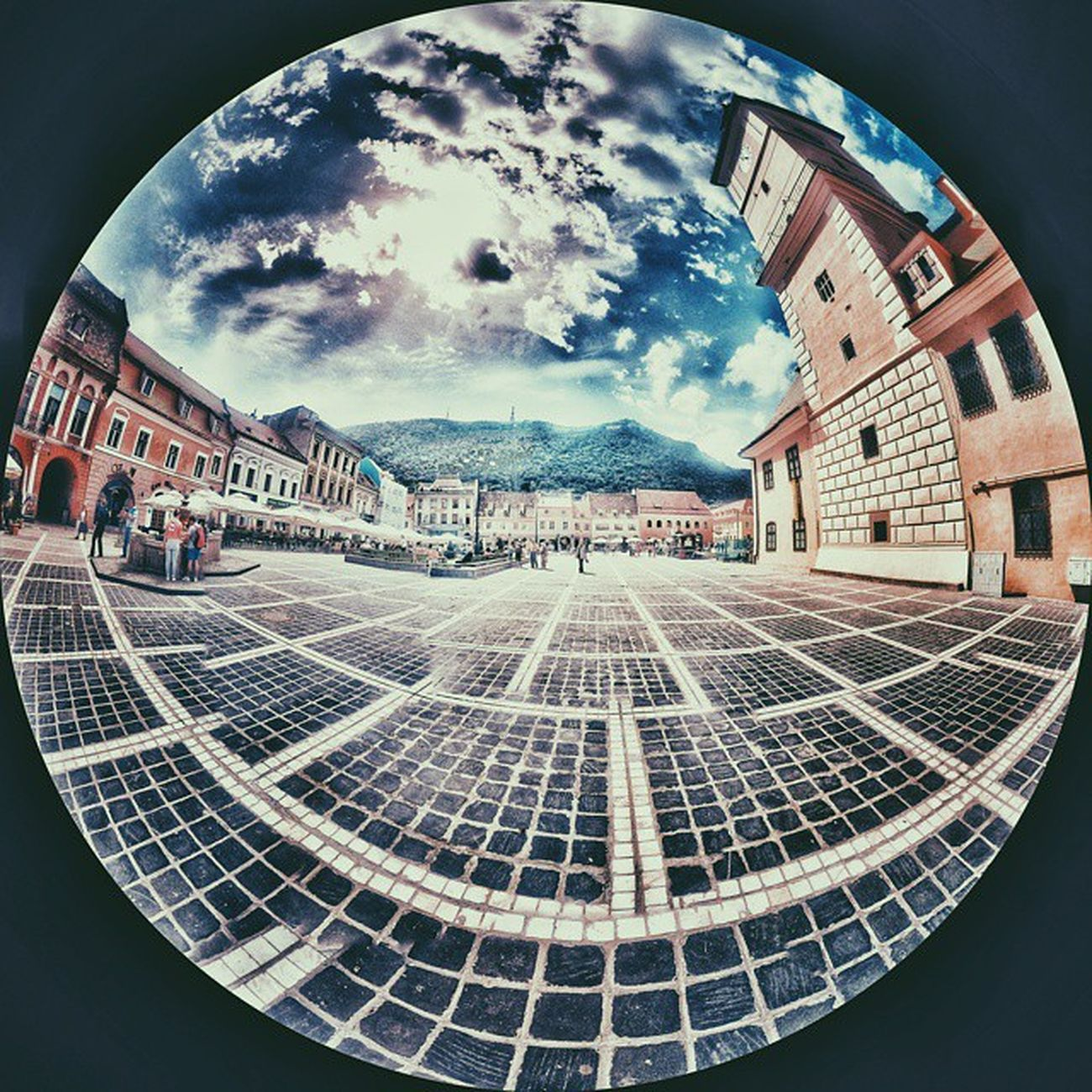 My tiny planet in Brasov Vscocam Travel Traveling Vacation Visiting Instatravel Instagood Trip Holiday Photooftheday Fun Travelling Tourist Mytravelgram Travelgram Igtravel Brasov Ig_brasov HDR Ig_romania Tinyplanet TBT  Hdr_lovers Hdr_lovers Igaddict igersromania hdr_pics panoramic vscogood vscoromania