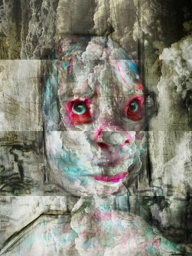 Art Art And Craft Mask - Disguise Human Face Getting In Touch Close-up Sketch Secret Garden Darkart Portrait Of A Murderer Portrait Darkness And Light