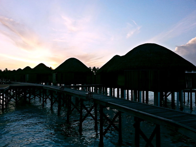 Maldives Holiday View Taking Photos Nice Atmosphere