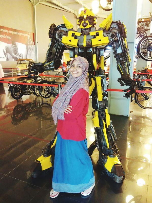 Look like BumbleBee 😜 Holiday Visiting Museum @Batu Malang Museum Angkut Batu Malang