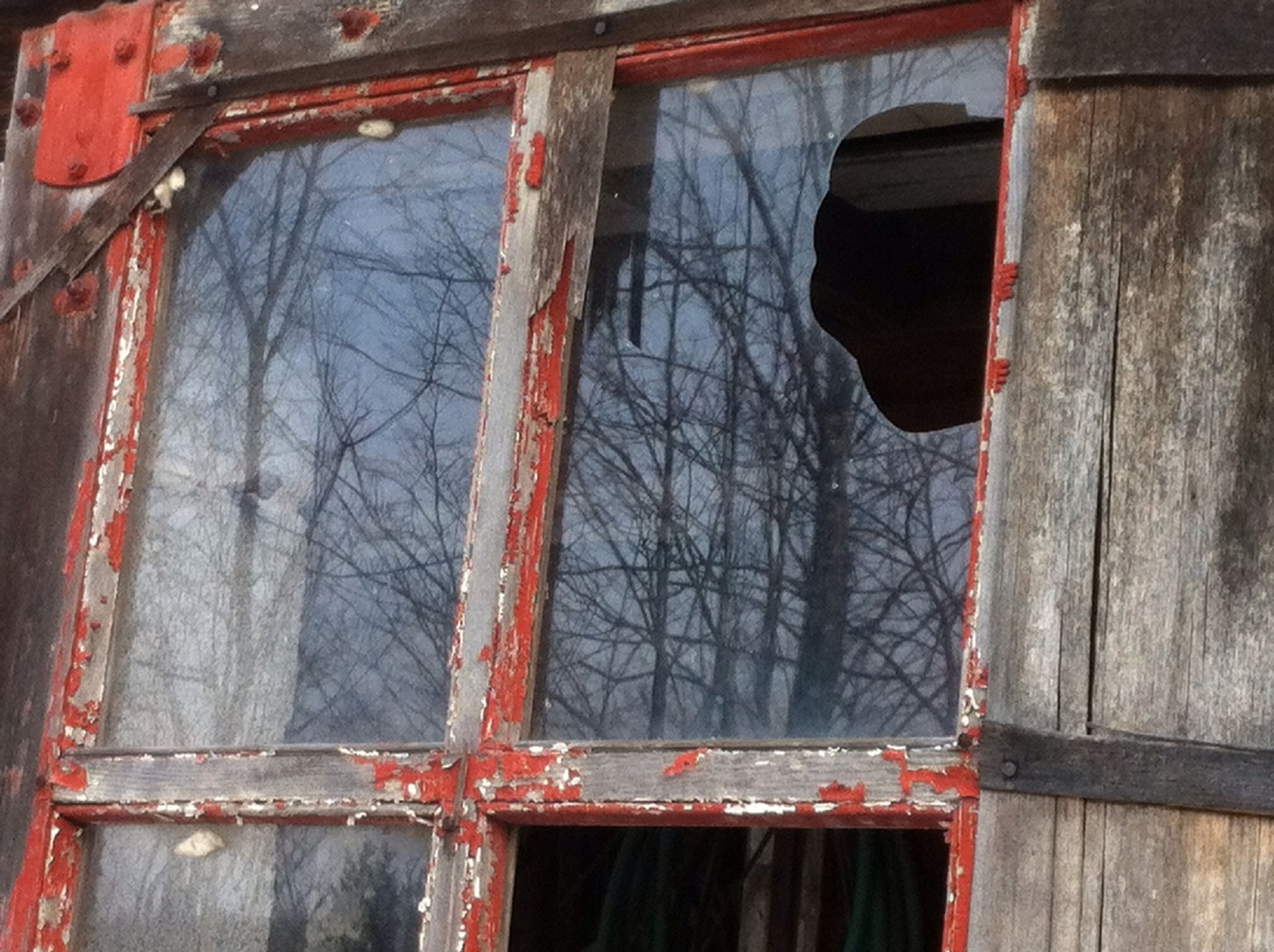 built structure, architecture, building exterior, weathered, old, damaged, window, abandoned, low angle view, wood - material, house, obsolete, rusty, run-down, day, deterioration, outdoors, no people, metal, building