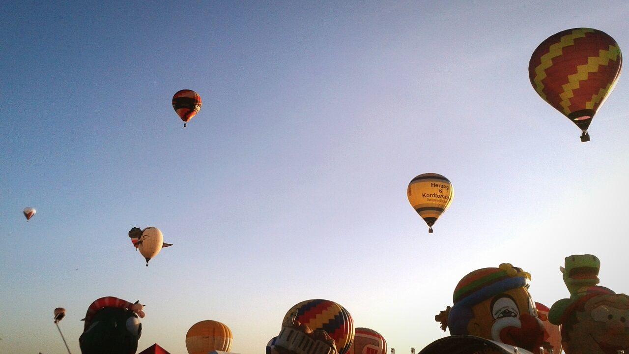 Showcase: February Balloonfestph Hot Air Balloons Sunrise Fly High Look Up Clark,Pampanga Sky And Clouds Happy Day Happiness Funtime Early Morning EyeEm Diversity