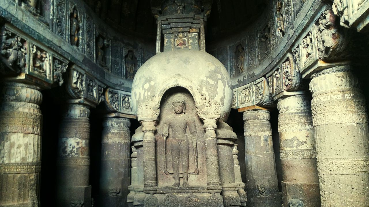 Ajanta Caves Ajantacaves Incredibleindia India Buddhism Marvelous Ancient Tourism Cave Hello World