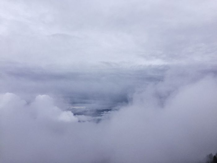 Scenics Tranquil Scene Beauty In Nature Cloud - Sky Tranquility Sky White Cloud Majestic Cloudscape Nature Day Outdoors Ethereal Cloudy Remote Aerial View Non-urban Scene Heaven No People