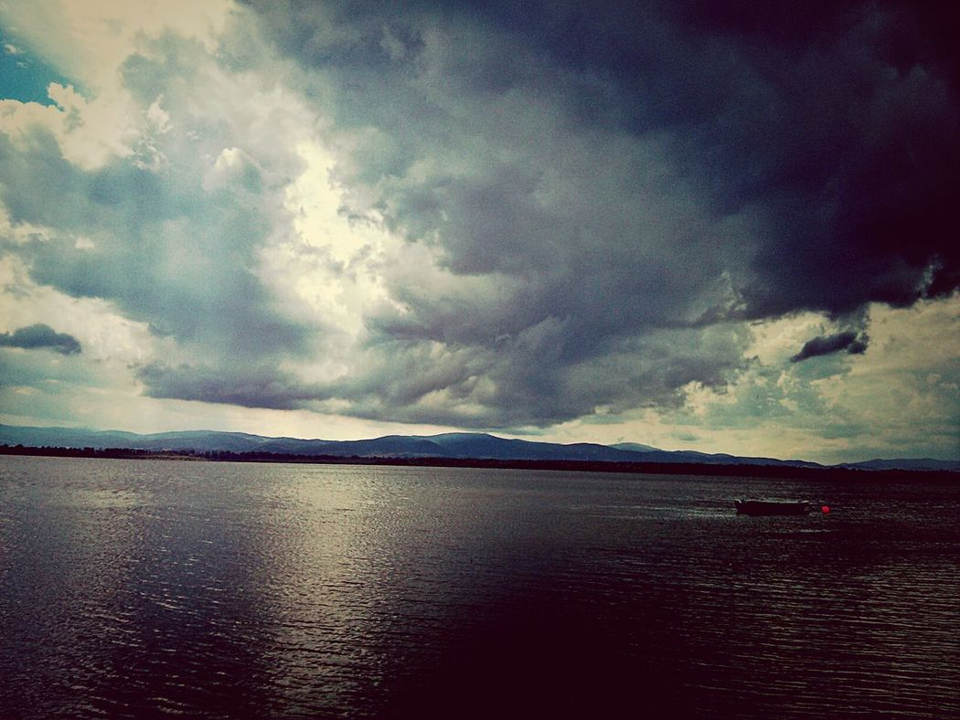 brace yourself. Storm is coming! Storm Clouds Clouds Lake