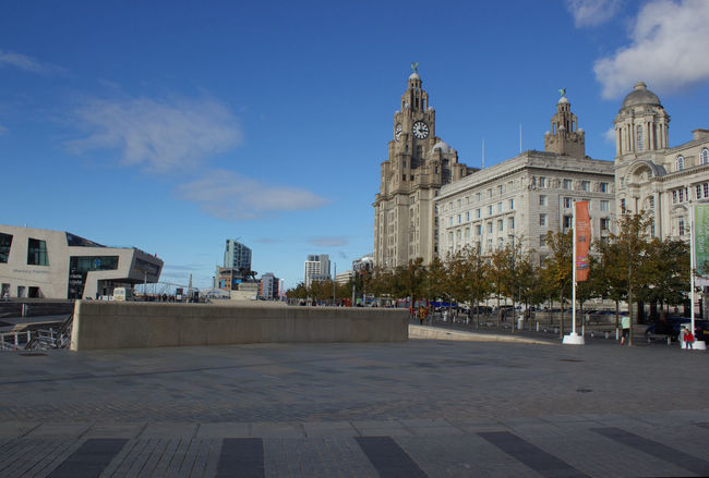 City Architecture Building Exterior Built Structure Horizontal No People Outdoors Sky Day Liver Building The Liver Building