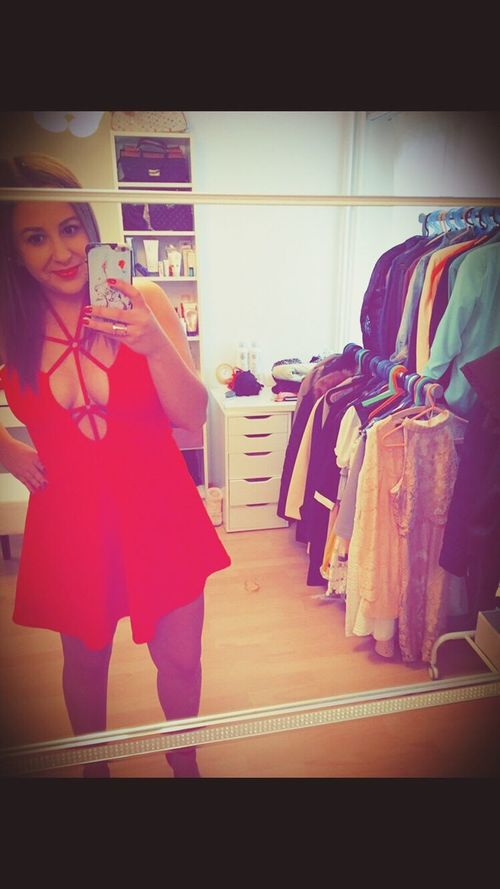Red Dress Short Sexyselfie Fashion #style #stylish #love #TagsForLikes #me #cute #photooftheday #nails #hair #beauty #beautiful #instagood #instafashion # Follw Me On Instagram vm_1331💃🏼💃🏼 Clothing Fashion Young Adult