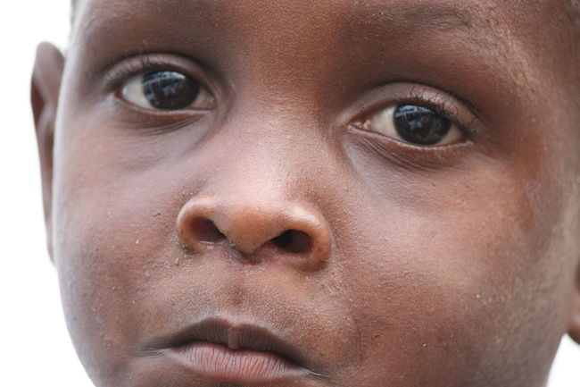 2006. Roça Agostinho Neto (former Roça Rio D'Ouro). Childhood Close-up Contemplation Focus On Foreground Front View Headshot Human Face Innocence Leisure Activity Lifestyles Looking At Camera Person Toddler  Young Adult