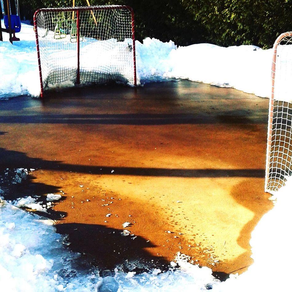 Hockey Hockey Game Gameover Neige Snow Winter Hiver Granby Outdoors Canton De L'Est Quebec, Canada Canada Quebec Province