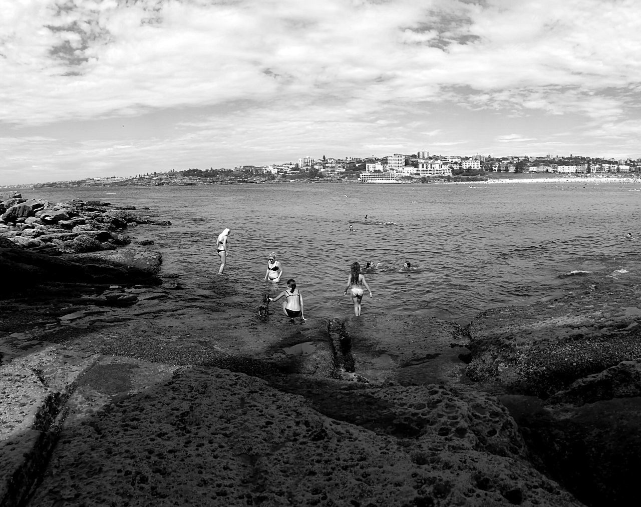 Swim on the rocks Sydney, Australia Bondi Beach Ben Buckler The Rocks North Bondi People Water