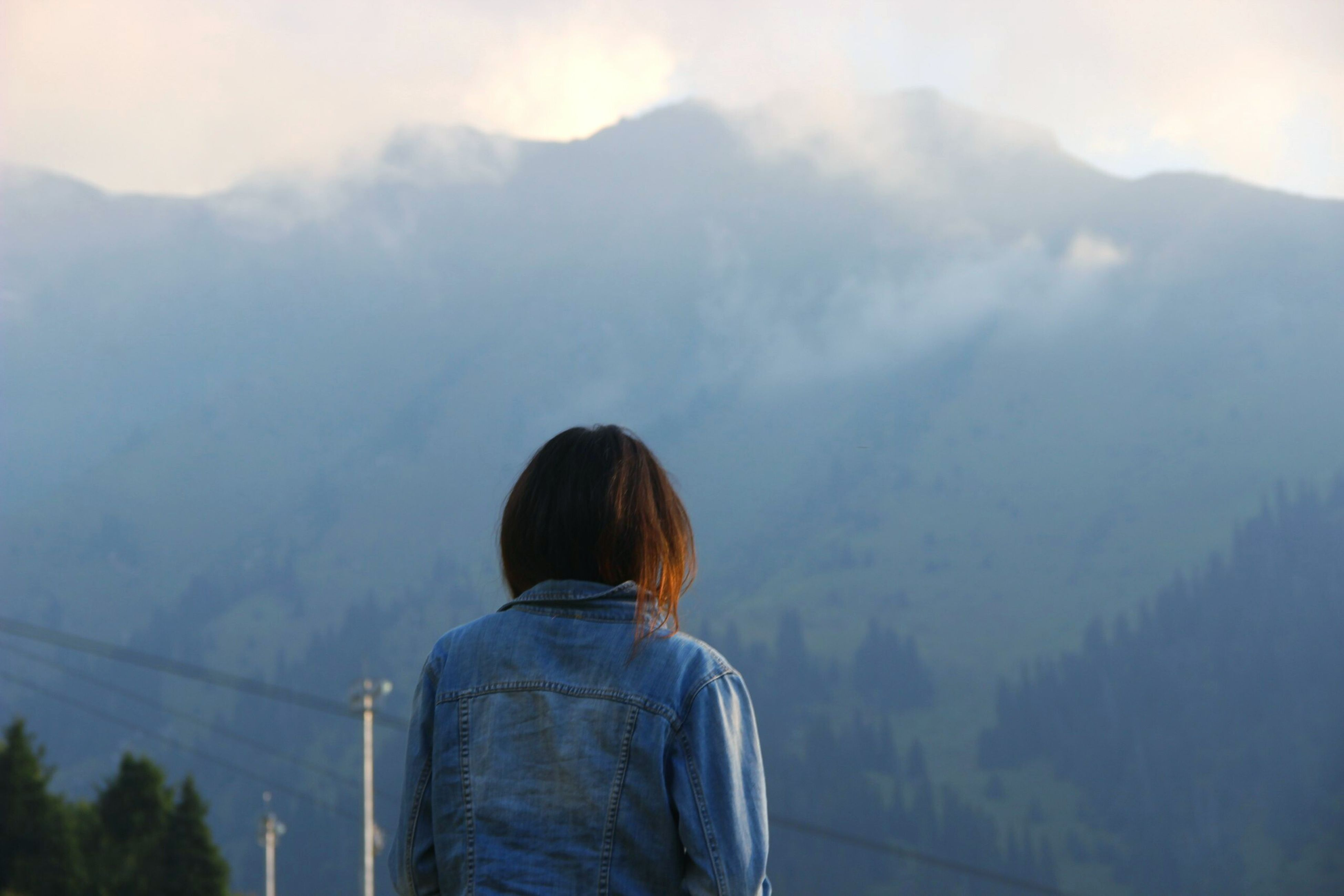First Eyeem Photo Pic Of Me Taken By MyFriend Chymbulak Mountains And Clouds Eyemphoto