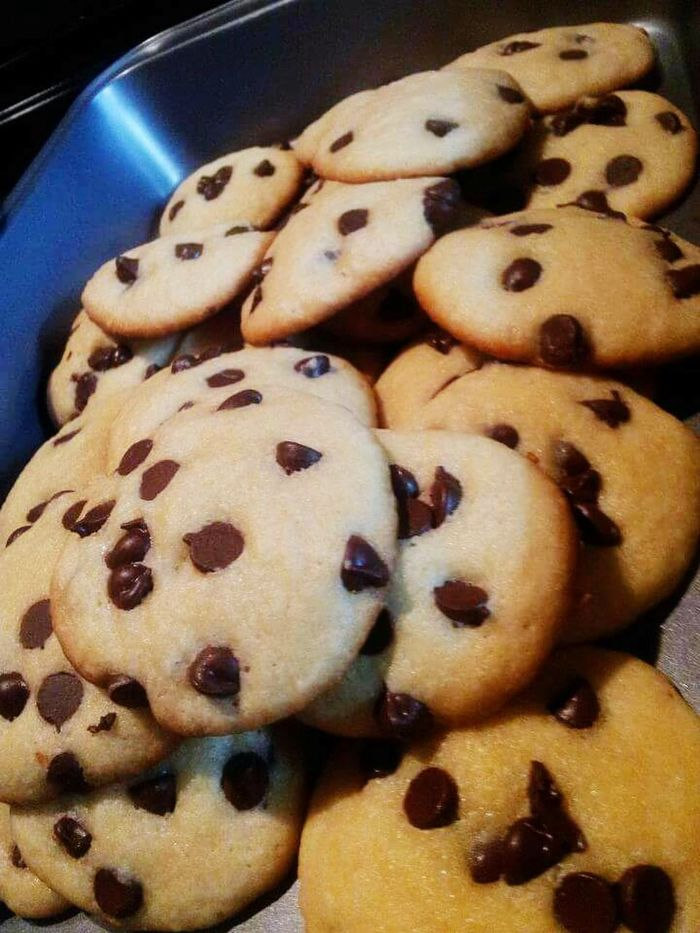 Cookies Homemade Check This Out Foodgasm Yummy Delicious More Fun In The Philippines  Baked Goods Cooking Sweets Treats Chocolate Chip Cookies