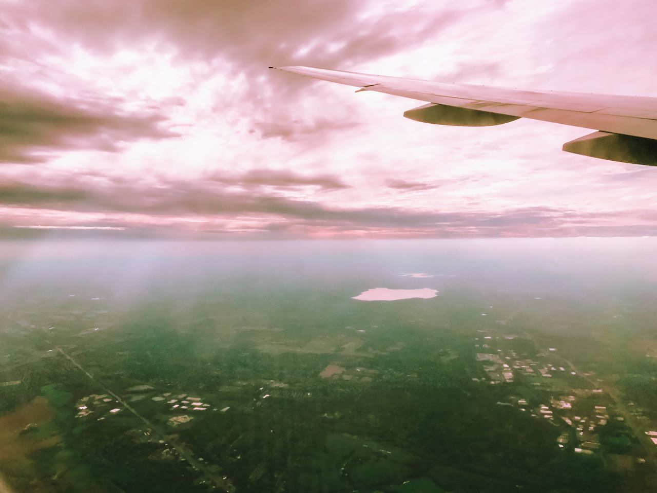 Airplane Sky Journey Transportation Flying Air Vehicle Landscape Airplane Wing Scenics Cloud - Sky Travel No People Nature Beauty In Nature Outdoors Tranquil Scene Day Sea Tranquility Mid-air