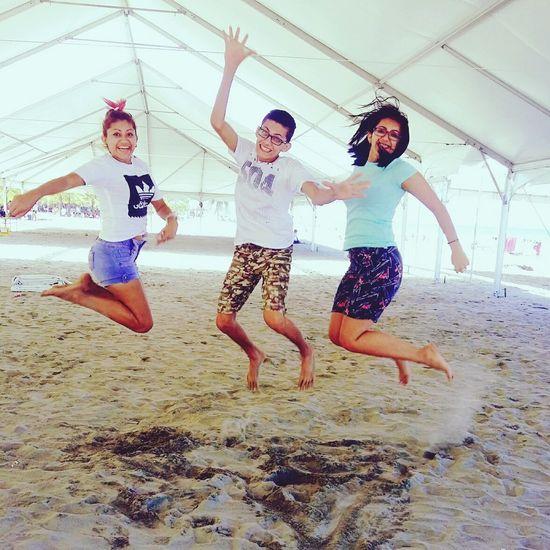 Telamar Resort Resort Beach Enjoyment Jumping Activity People Young Adult Day Nature Jovenes Adult Popular Photos Popular Alwaystogether Hermandad Sisters ❤ Love Sister ❤️ Arenas