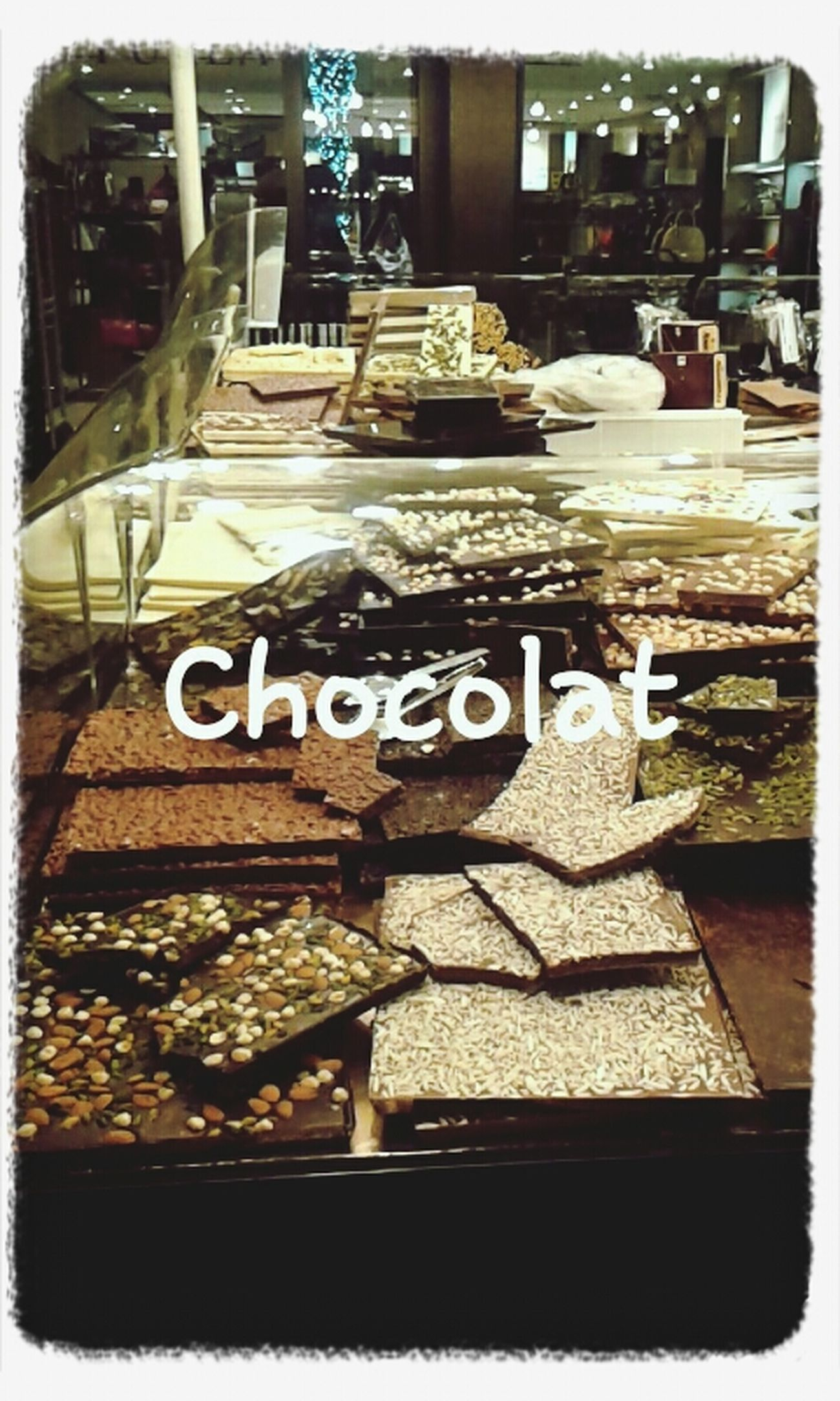 Chocolate Delicious Sweet Mlmlml
