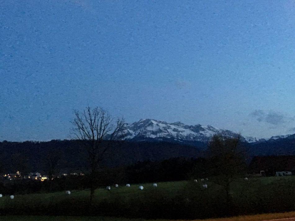 Night Lucerne Mt.pilatus