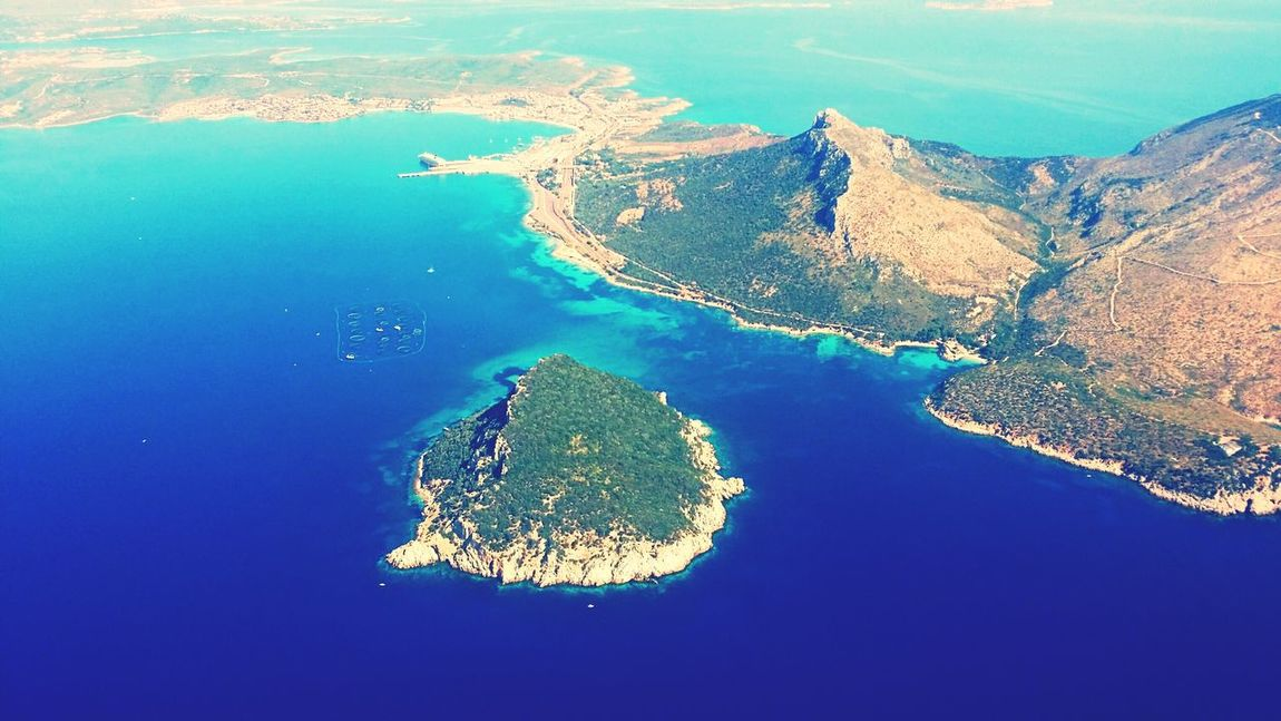 Italy Sardinia Captured On Board Colorful Sea Magic Land