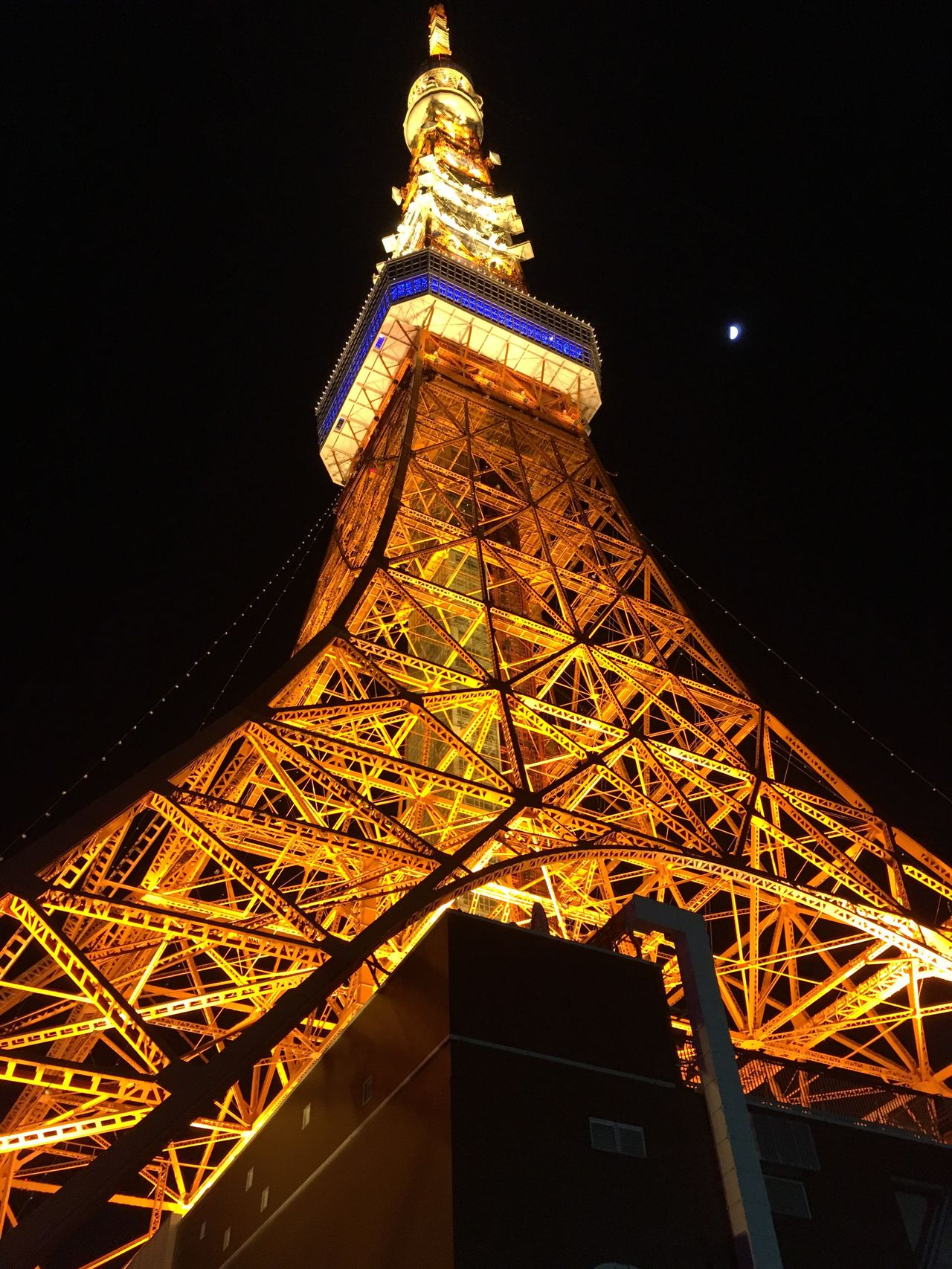 Tokyo tower in night 東京タワー 日本 Built Structure Architecture Tokyo Tower Tokyo Night