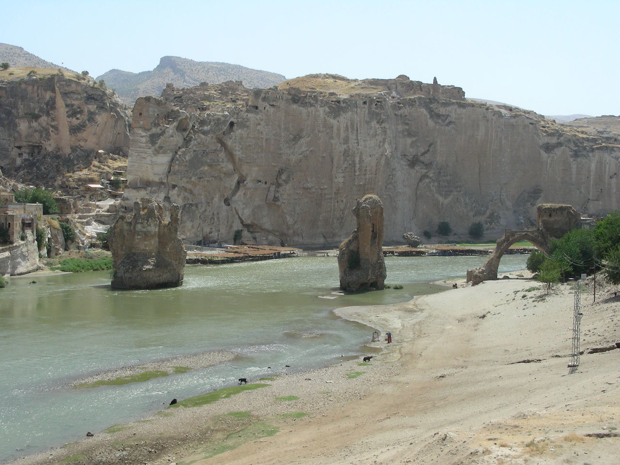 A last look at Hasankeyf before its flooded by the reservuar waters :( Beach Beauty In Nature Bridge Day Geology Hasankeyf Hasankeyfkoprusu Landscape Lost Heritage Mountain Nature No People Outdoors Rock - Object Sand Sand Dune Save Hasankeyf Scenics Sea Water