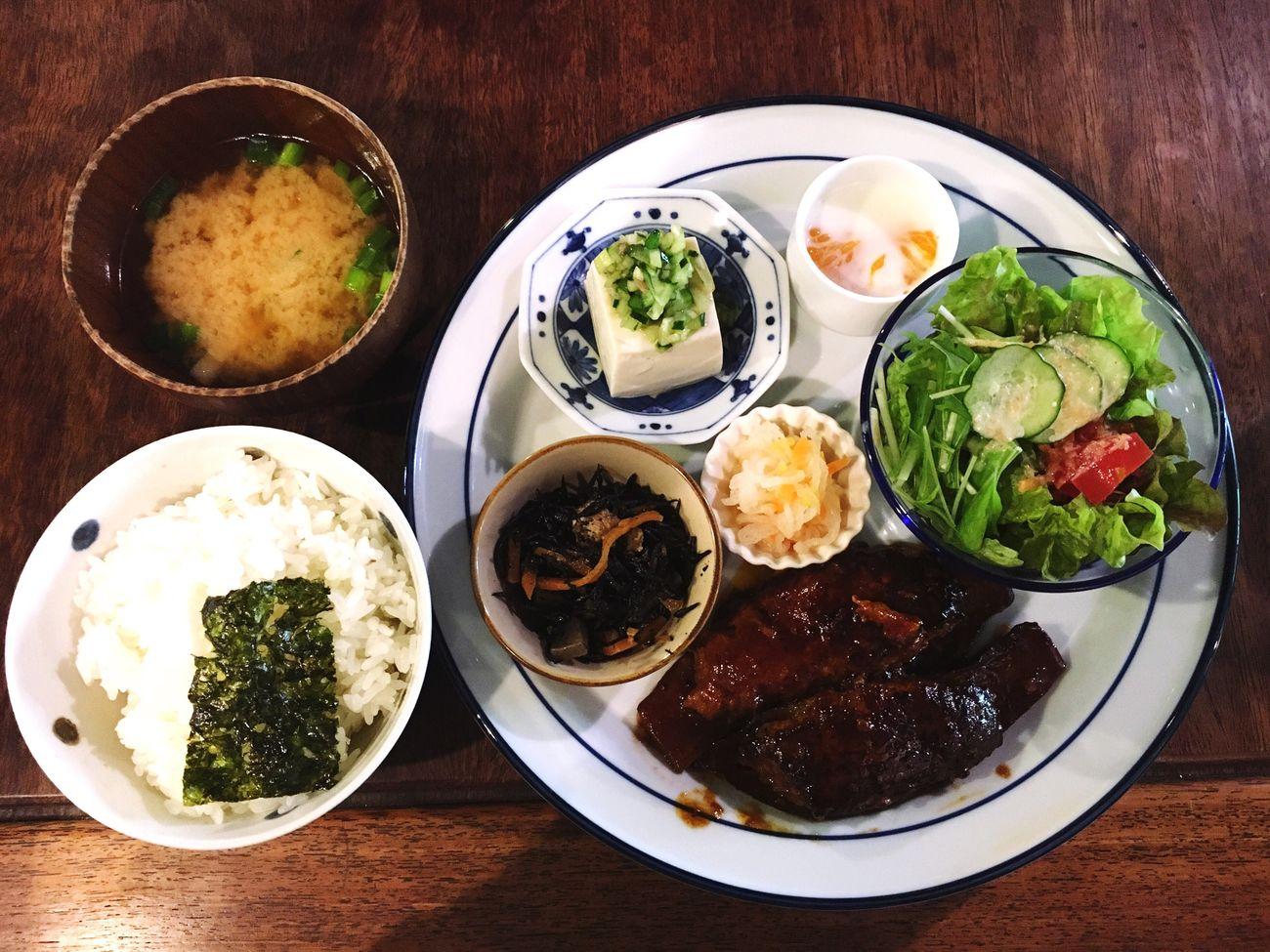 ことばのはおとにてランチ ことばのはおと ランチ 昼食 Lunch Kyoto Japan 京都 ハンバーグ カフェ