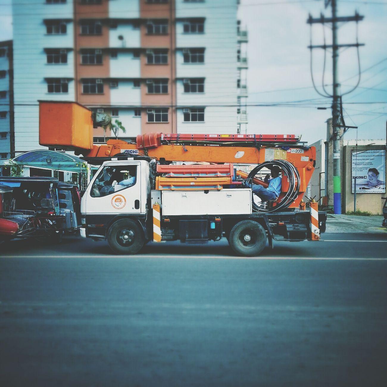 May liwanag ang buhay. Meralco Truck Eyeem Philippines