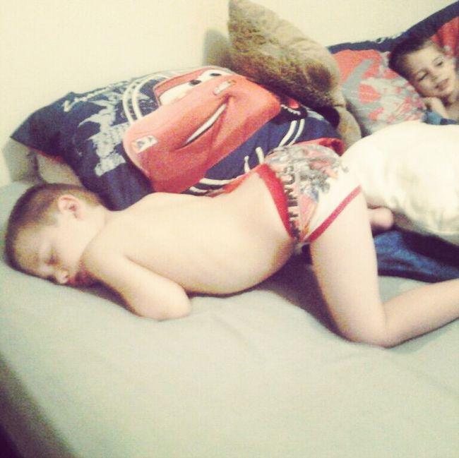 My Nephew Anthony Sleeping.