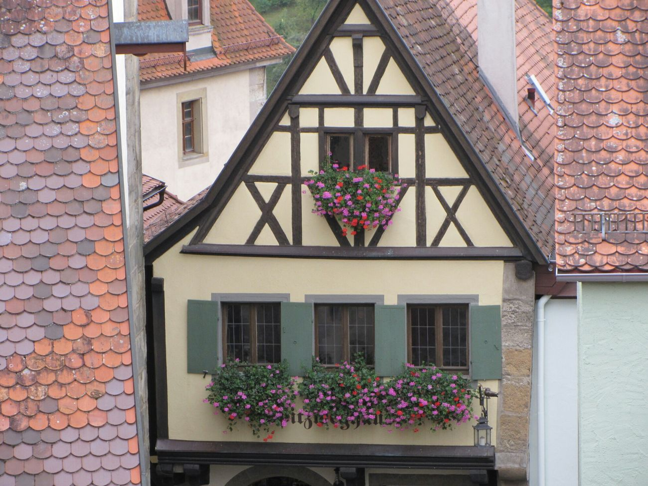 Fachwerkhaus Germany Rothenburg O. T.