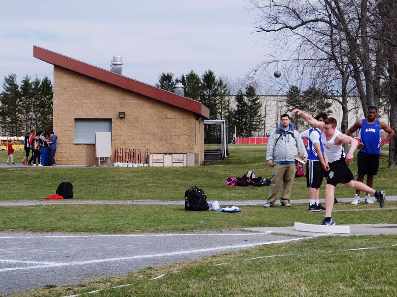 Shot put Sport Sports Track Shot Put
