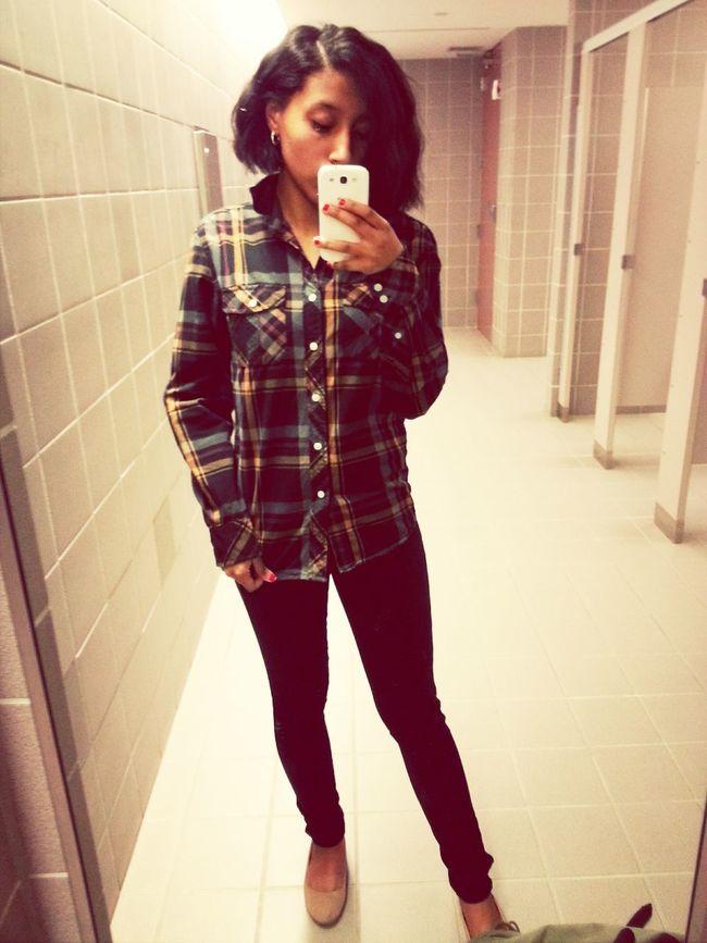 School Selfie  OOTD ❤