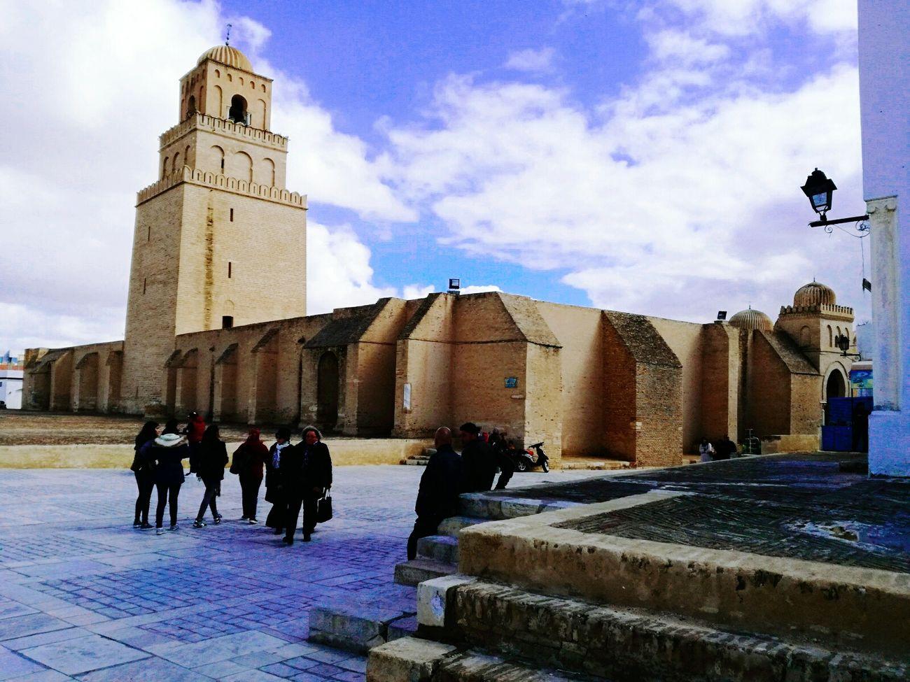 Architecture Tunisia Islamic Art Islamic Architecture Cultures Architecture Cloud - Sky Sky Day Mosque Tunisia <3